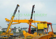 Hydraulic Steel Flexible Marine Knuckle Boom Crane Heavy Duty 100T10M